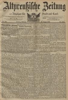 Altpreussische Zeitung, Nr. 203 Mittwoch 30 August 1893, 45. Jahrgang