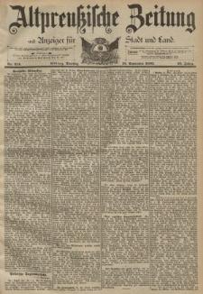 Altpreussische Zeitung, Nr. 214 Dienstag 12 September 1893, 45. Jahrgang