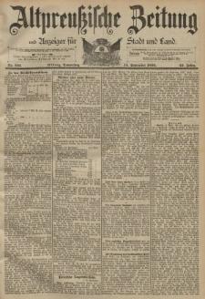 Altpreussische Zeitung, Nr. 216 Donnerstag 14 September 1893, 45. Jahrgang