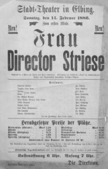 Frau Director Striese - Paul Schönthan