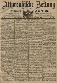 Altpreussische Zeitung, Nr. 16 Sonntag 19 Januar 1896, 48. Jahrgang