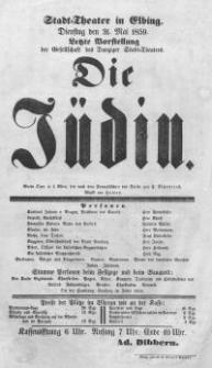 Die Jüdin - Eugene Scribe