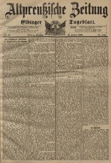 Altpreussische Zeitung, Nr. 17 Dienstag 21 Januar 1896, 48. Jahrgang