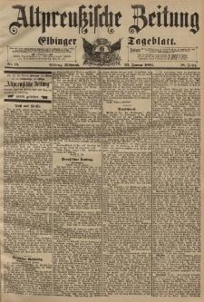 Altpreussische Zeitung, Nr. 18 Mittwoch 22 Januar 1896, 48. Jahrgang