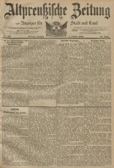 Altpreussische Zeitung, Nr. 232 Dienstag 3 Oktober 1893, 45. Jahrgang