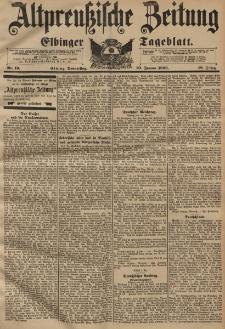 Altpreussische Zeitung, Nr. 19 Donnerstag 23 Januar 1896, 48. Jahrgang