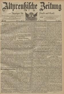 Altpreussische Zeitung, Nr. 235 Freitag 6 Oktober 1893, 45. Jahrgang