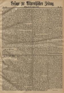 Altpreussische Zeitung, Nr. 20. 24 Januar 1896, 48. Jahrgang