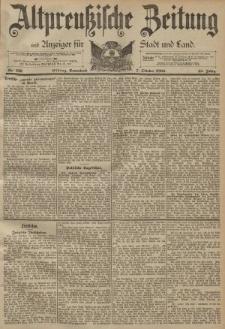 Altpreussische Zeitung, Nr. 236 Sonnabend 7 Oktober 1893, 45. Jahrgang
