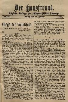 Altpreussische Zeitung, Nr. 22 .26 Januar 1896, 48. Jahrgang