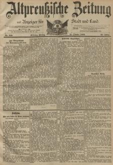 Altpreussische Zeitung, Nr. 241 Freitag 13 Oktober 1893, 45. Jahrgang