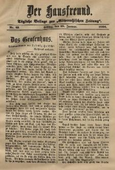 Altpreussische Zeitung, Nr. 23 . 28 Januar 1896, 48. Jahrgang