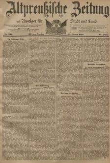 Altpreussische Zeitung, Nr. 244 Dienstag 17 Oktober 1893, 45. Jahrgang