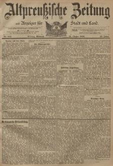 Altpreussische Zeitung, Nr. 245 Mittwoch 18 Oktober 1893, 45. Jahrgang