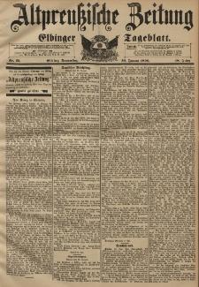 Altpreussische Zeitung, Nr. 25 Donnerstag 30 Januar 1896, 48. Jahrgang