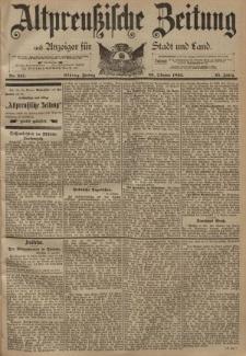 Altpreussische Zeitung, Nr. 247 Freitag 20 Oktober 1893, 45. Jahrgang