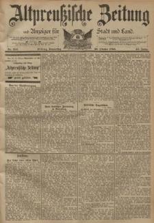 Altpreussische Zeitung, Nr. 252 Donnerstag 26 Oktober 1893, 45. Jahrgang