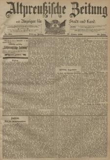 Altpreussische Zeitung, Nr. 253 Freitag 27 Oktober 1893, 45. Jahrgang