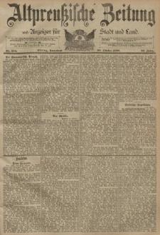 Altpreussische Zeitung, Nr. 254 Sonnabend 28 Oktober 1893, 45. Jahrgang
