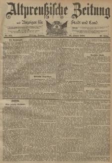 Altpreussische Zeitung, Nr. 255 Sonntag 29 Oktober 1893, 45. Jahrgang