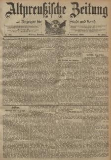 Altpreussische Zeitung, Nr. 261 Sonntag 5 November 1893, 45. Jahrgang