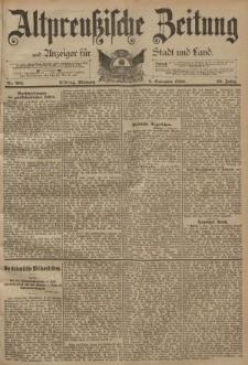 Altpreussische Zeitung, Nr. 263 Mittwoch 8 November 1893, 45. Jahrgang