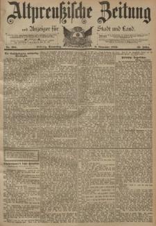 Altpreussische Zeitung, Nr. 264 Donnerstag 9 November 1893, 45. Jahrgang