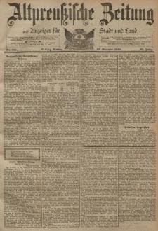 Altpreussische Zeitung, Nr. 267 Sonntag 12 November 1893, 45. Jahrgang
