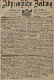 Altpreussische Zeitung, Nr. 284 Sonntag 3 Dezember 1893, 45. Jahrgang