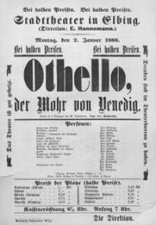 Otello, der Mohr von Venedig - William Shakespeare