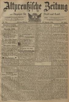 Altpreussische Zeitung, Nr. 298 Mittwoch 20 Dezember 1893, 45. Jahrgang