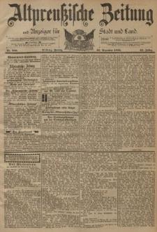 Altpreussische Zeitung, Nr. 300 Freitag 22 Dezember 1893, 45. Jahrgang