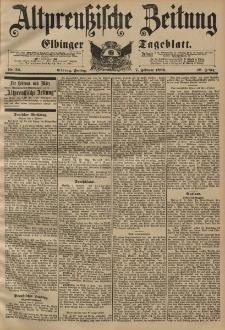 Altpreussische Zeitung, Nr. 32 Freitag 7 Februar 1896, 48. Jahrgang