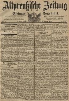 Altpreussische Zeitung, Nr. 44 Freitag 21 Februar 1896, 48. Jahrgang