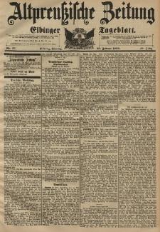Altpreussische Zeitung, Nr. 47 Dienstag 25 Februar 1896, 48. Jahrgang