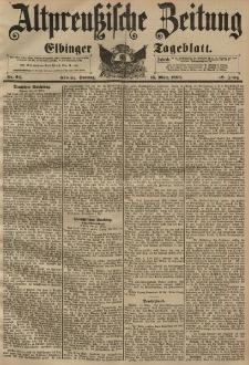 Altpreussische Zeitung, Nr. 64 Sonntag 15 März 1896, 48. Jahrgang