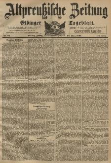 Altpreussische Zeitung, Nr. 68 Freitag 20 März 1896, 48. Jahrgang