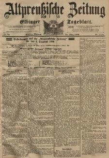 Altpreussische Zeitung, Nr. 72 Mittwoch 25 März 1896, 48. Jahrgang