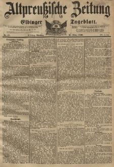 Altpreussische Zeitung, Nr. 77 Dienstag 31 März 1896, 48. Jahrgang