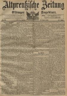 Altpreussische Zeitung, Nr. 96 Freitag 24 April 1896, 48. Jahrgang