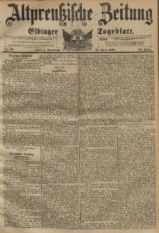Altpreussische Zeitung, Nr. 97 Sonnabend 25 April 1896, 48. Jahrgang