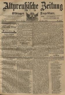 Altpreussische Zeitung, Nr. 98 Sonntag 26 April 1896, 48. Jahrgang