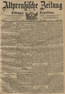 Altpreussische Zeitung, Nr. 102 Freitag 1 Mai 1896, 48. Jahrgang