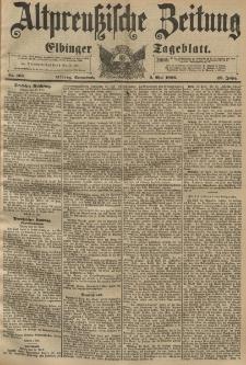 Altpreussische Zeitung, Nr. 103 Sonnabend 2 Mai 1896, 48. Jahrgang