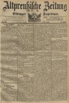 Altpreussische Zeitung, Nr. 105 Dienstag 5 Mai 1896, 48. Jahrgang