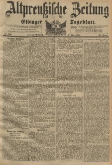Altpreussische Zeitung, Nr. 106 Mittwoch 6 Mai 1896, 48. Jahrgang