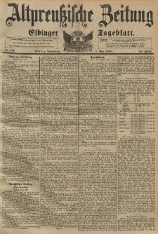 Altpreussische Zeitung, Nr. 107 Donnerstag 7 Mai 1896, 48. Jahrgang
