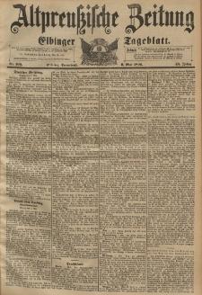 Altpreussische Zeitung, Nr. 109 Sonnabend 9 Mai 1896, 48. Jahrgang