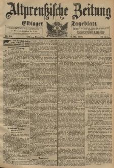 Altpreussische Zeitung, Nr. 113 Donnerstag 14 Mai 1896, 48. Jahrgang