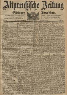 Altpreussische Zeitung, Nr. 114 Sonnabend 16 Mai 1896, 48. Jahrgang